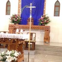 Photo taken at 聖方濟沙勿略天主堂 St. Francis Xavier Parish by Giovanna Z. on 4/17/2014