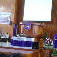 Photo taken at Gereja Koinonia by Noldy H. on 2/10/2013