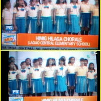 Photo taken at Lagao Central Elementary School by Marmaee P. on 12/15/2013