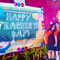 Photo taken at Lagao Central Elementary School by Marmaee P. on 10/4/2013
