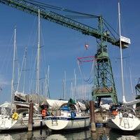 Photo taken at Hafen Hard by Arnd H. on 4/24/2013