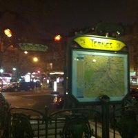 Photo taken at Place des Ternes by Svetlana E. on 2/23/2013