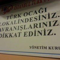 Photo taken at Türk Ocağı Kültür ve Sanat Merkezi by Mehmet Ç. on 3/30/2013