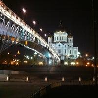 Photo taken at Patriarshiy Bridge by Альберт Т. on 5/13/2013