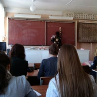 Photo taken at Школа №64 by Еlena M. on 4/10/2013