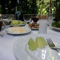 Photo taken at Değirmende Canlı Alabalık Restaurant by Hilal Y. on 5/29/2013