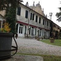 Photo taken at Villa Luppis by Bengisu T. on 4/8/2013