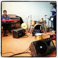 Photo taken at CERN Jazz club by Miguel G. on 4/17/2013