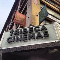 Photo taken at Tribeca Cinemas by Alec P. on 10/19/2012