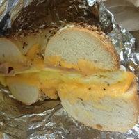 Photo taken at JP's Bagel Express / Sunrise Bagels Cafe by Alec P. on 7/6/2013