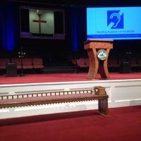 Photo taken at Rock Springs Church by Lee J. on 8/10/2014