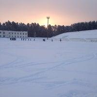 """Photo taken at Стадион """"Локомотив"""" by Natasha K. on 1/18/2014"""