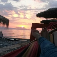 Photo taken at Psaropouli beach by Efi K. on 8/6/2014