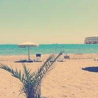 Photo taken at BOTAŞ Plajı by Aysen Özge İ. on 6/23/2013