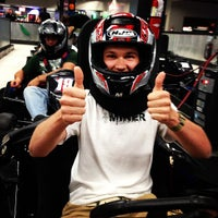 Photo taken at Extreme Grand Prix Indoor Family Fun Center by Dustin S. on 6/22/2013