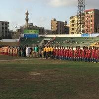 Photo taken at Lyari People Stadium by Ayaz S. on 5/7/2016