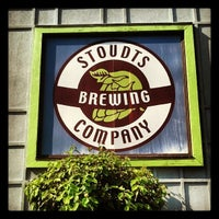 Photo taken at Stoudts Brewing Company by Colin P. on 9/18/2013