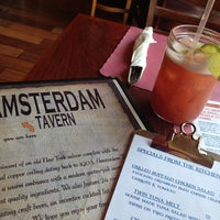 Photo taken at Amsterdam Tavern by Ci B. on 4/8/2013