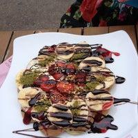 7/1/2013 tarihinde Yeşim B.ziyaretçi tarafından Prinkipo Dondurma ve Waffle'de çekilen fotoğraf