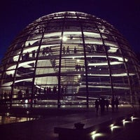 Photo taken at Reichstag by João R. on 5/1/2013