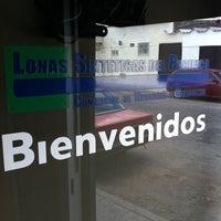 Photo taken at Lonas Sinteticas Del Pacifico by Canek C. on 7/13/2013