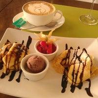 Photo taken at Café B. Braun by Irina L. on 4/23/2013