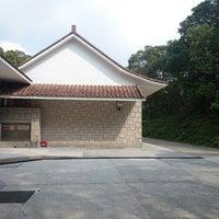 Photo taken at Tai Mo Shan Country Park Visitor Centre 大帽山郊野公園遊客中心 by Godfrey C. on 4/18/2014