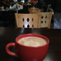 Photo taken at The Novel Cafe by Ryan S. on 2/10/2013