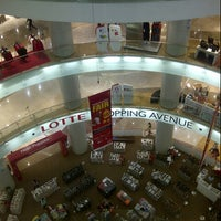 Photo taken at Lotte Department Store by Ming A. on 2/7/2015