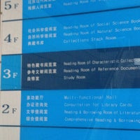Photo taken at Nanning Library by みけ on 9/19/2012
