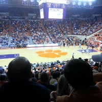 Photo taken at Littlejohn Coliseum by Tripp A. on 3/1/2013