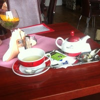 Photo taken at Café Jilian by Suzie H. on 4/13/2014