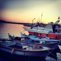 Photo taken at Cunda by Elif A. on 7/25/2013