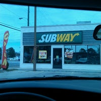Photo taken at Subway by JAMES T. on 3/22/2013