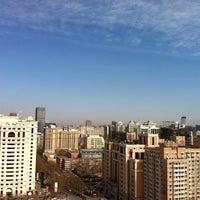 Photo taken at Fuhua Mansion 富华大厦 by irwin w. on 2/7/2013