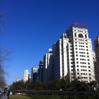 Photo taken at Fuhua Mansion 富华大厦 by irwin w. on 12/5/2012