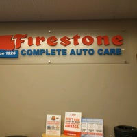 Photo taken at Firestone Complete Auto Care by Amruta W. on 1/28/2017