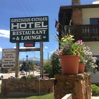 Photo taken at Gasthaus Eichler Inn Winter Park (Colorado) by Stephen M. on 6/26/2013