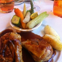 Photo taken at Brasserie 135 by Chieh d. on 7/5/2013