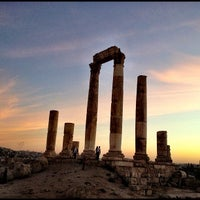 Photo taken at Amman Citadel by Zamil S. on 10/29/2012