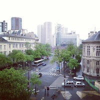 Photo taken at Place d'Italie by Kim F. on 5/20/2013