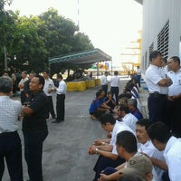 Photo taken at Merpati Maintenance Facility by Bildad P. on 8/21/2013