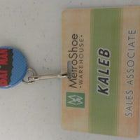 Photo taken at MetroShoe Warehouse by Kaleb B. on 1/29/2013