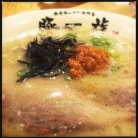 Photo taken at 豚一族 by iichun on 7/8/2015