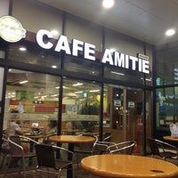 Photo taken at cafe amitie by By_ S. on 6/26/2014
