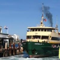 Photo taken at Manly Wharf Bar by Justin D. on 2/18/2013