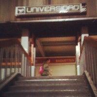 Photo taken at Metro Universidad (Línea 3) by Yo soy raul on 12/5/2012
