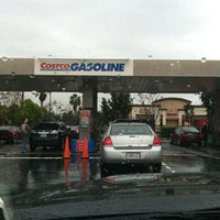 Photo taken at Costco Gasoline by Heather M. on 1/25/2013