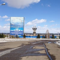 Photo taken at Cheremshanka Airport by Kirill G. on 4/2/2013