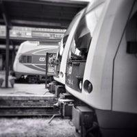 Photo taken at Prague Masaryk Railway Station by Pavel D. on 6/4/2013
